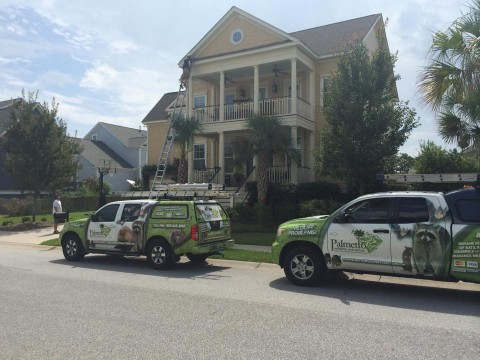 Palmetto Wildlife Extractors at a residence in South Carolina